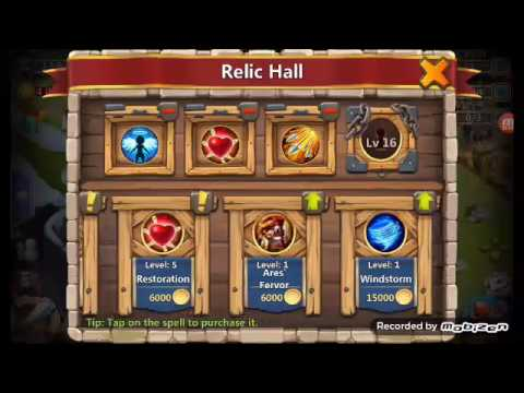 Castle Clash. Raiding Strategies And Best Spells To Use In Raids. Must Watch