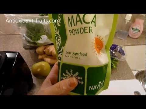 Maca Powder Review: Navitas Naturals Raw Maca Powder Review - Antioxidant-fruits