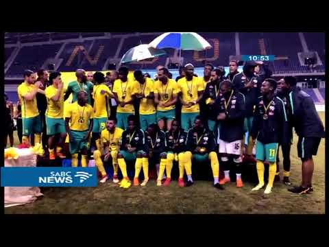 Bafana clinch Four Nations tournament after 2-0 victory over Zambia