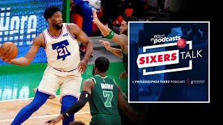 76ers' joel embiid cannot be stopped by the boston celtics | sixers talk