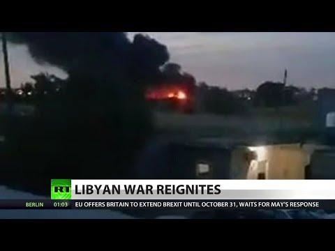 Plane shot down in Libya