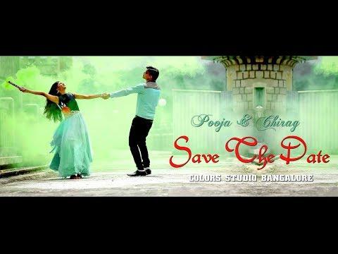 SAVE THE DATE - POOJA + CHIRAG - BANGALORE - {Pooja Side}