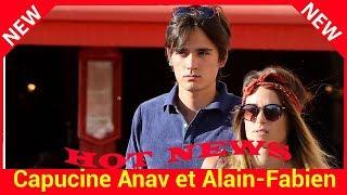 Capucine Anav et Alain-Fabien Delon, vacances en amoureux