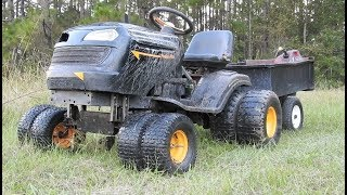 How to Build a Lift Kit for a Mud Mower