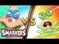 SMASHERS | Slime Guy VS Runny Nose | Camp Crud - Episode 3 | Cartoons for Children