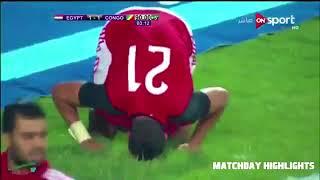 Egipto 2 vs 1 Congo | RUMBO A RUSIA 2018