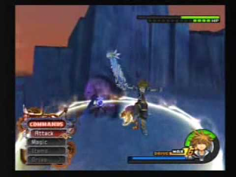 Kingdom Hearts II - Sora & Hercules Vs. Sephiroth & Hades ...
