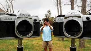 canon AE-1 vs AE-1 Program - Retro Camera Review - Ep. 15
