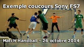 Exemple concours Sony - Match de Hand