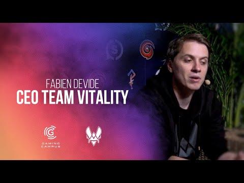 Fabien Devide (CEO Team Vitality) parle de Gaming Campus dans l'émission de GOTAGA