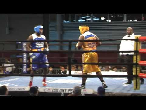 2017 Golden Gloves Terrence Turner fights in Heavyweight Finals