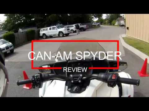 CAN AM SPYDER review