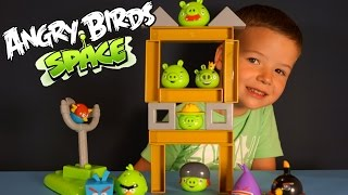 ������� ����� ����� �� �������. Angry Birds Toys. Angry Birds Space Game Toys review