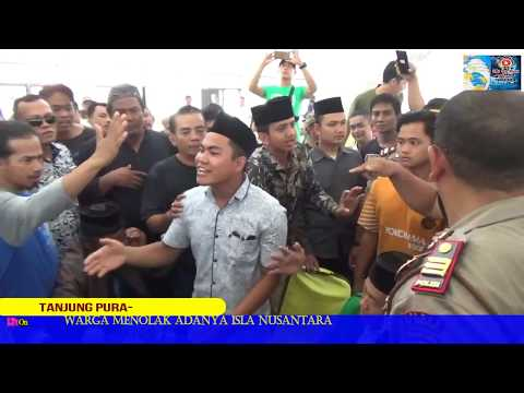 Langkat : Ratusan Warga Tanjung Pura Bubarkan Paksa Acara Gp Ansor
