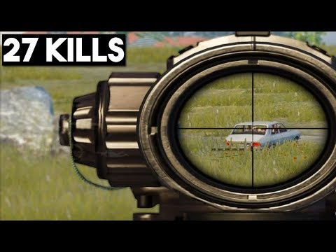 IF YOU LOVE M24 WATCH THIS! | 27 KILLS Solo vs Squad | PUBG Mobile