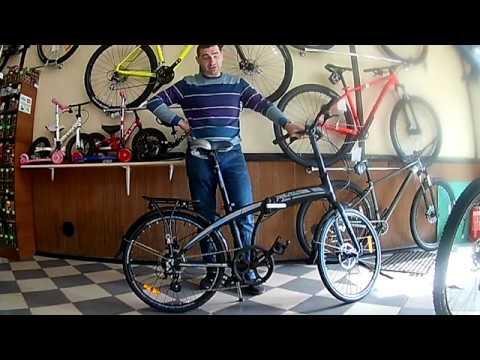 Видео обзор складного велосипеда VNC Highway 24, от Киевского магазина VeloViva