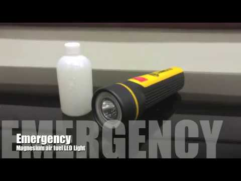 Magnesium Air Fuel Cell Torch 7280 Video