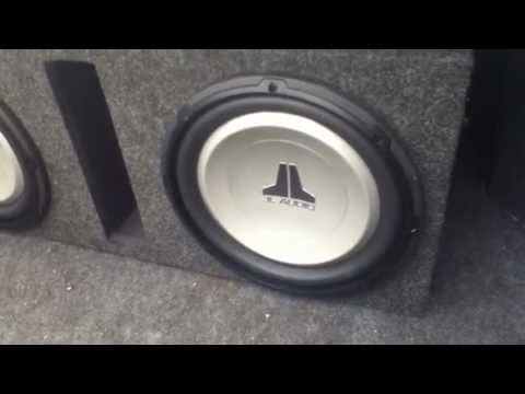 2 Channel And 4 Speakers Rzt 50 Wiring Diagram Jl Audio 12' Subwoofers 12w1v2-4 - Youtube