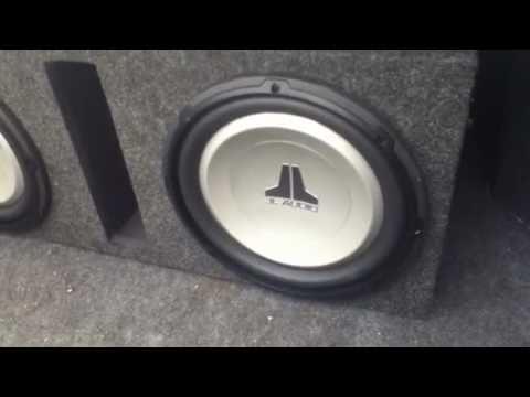 JL Audio 12' subwoofers 12W1v2-4 - YouTube on