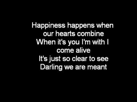 Meant To Be Lyrics (Melissa Polinar)