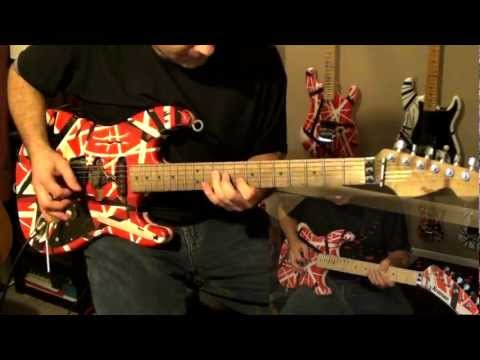 'Unchained' - Van Halen (cover w/ backing track)