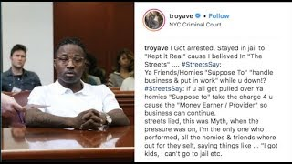 Troy Ave Breaks Down On IG: