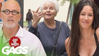 Best Of Old People Pranks Vol. 2 | Just For Laughs Compilation