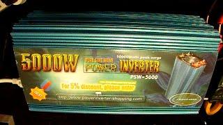Power Jack 5000W Pure Sine Inverter Review - part3/3