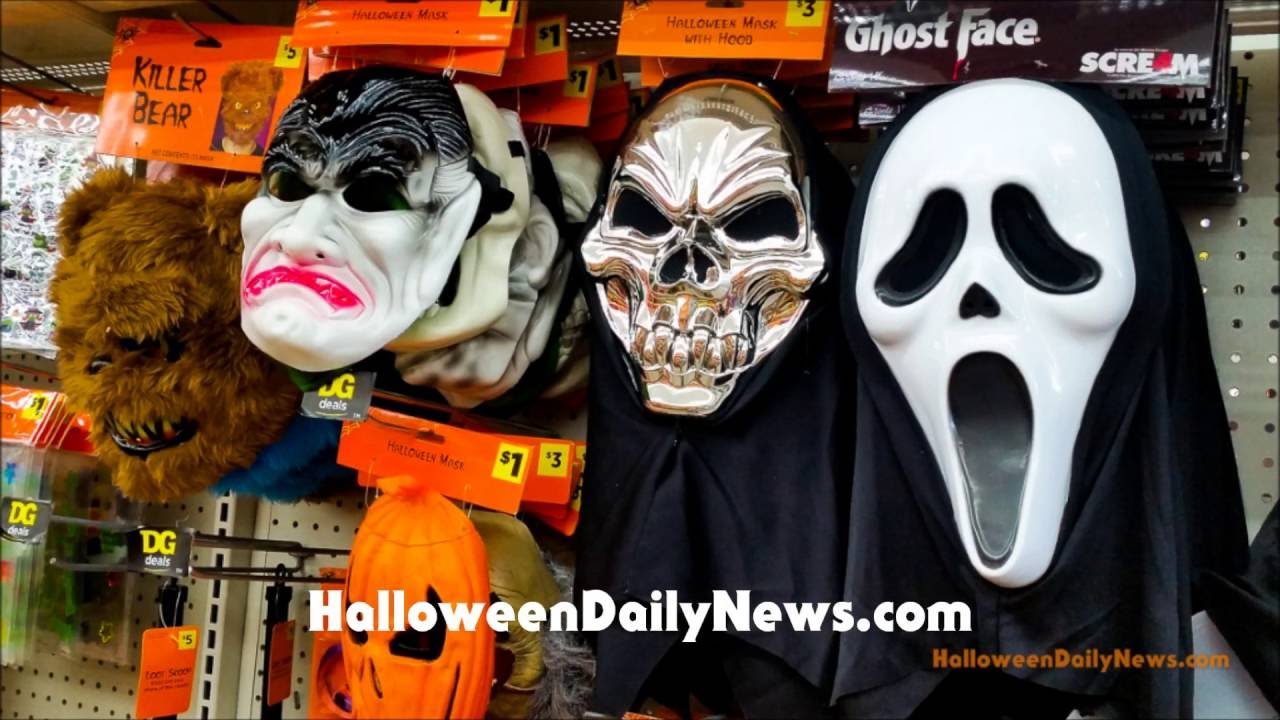Halloween at Dollar General - 8/25/16 - YouTube