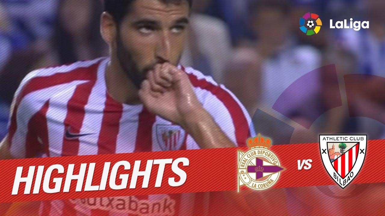 Resumen: Deportivo – Athletic 11-9-2016