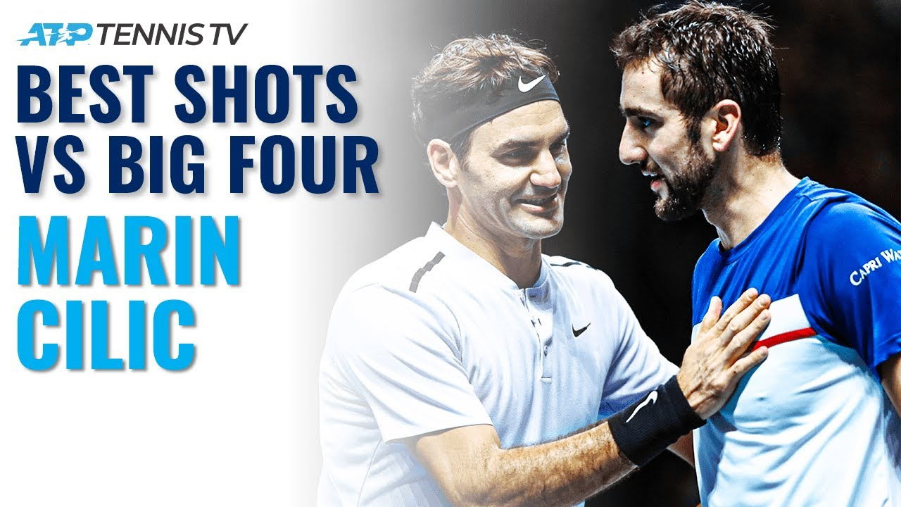 Marin Cilic: Best Shots & Rallies vs The Big Four!