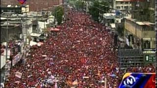08 ABR 2017 Caravana y Concentración del Candidato de Chávez, Nicolás Maduro, en Monagas