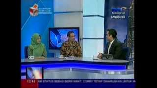 News Anchor TVRI Kenan Judge Dalam Dialog Indonesia Siang Tema Logistik Nasional & Azaz Cabbotage