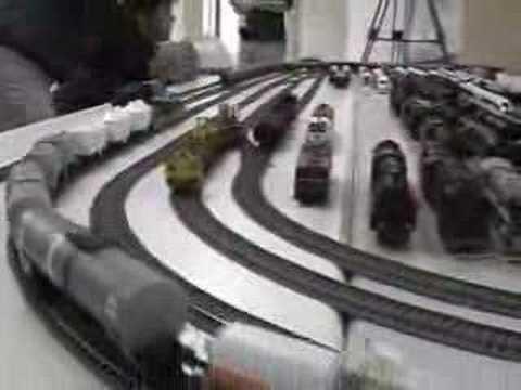 DCC Train model