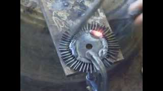 Mini Steam turbine MK2 build - part 2