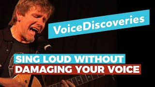 SING LOUD without DAMAGING your voice — Voice Training for Guitar Players — Voice Discoveries #2