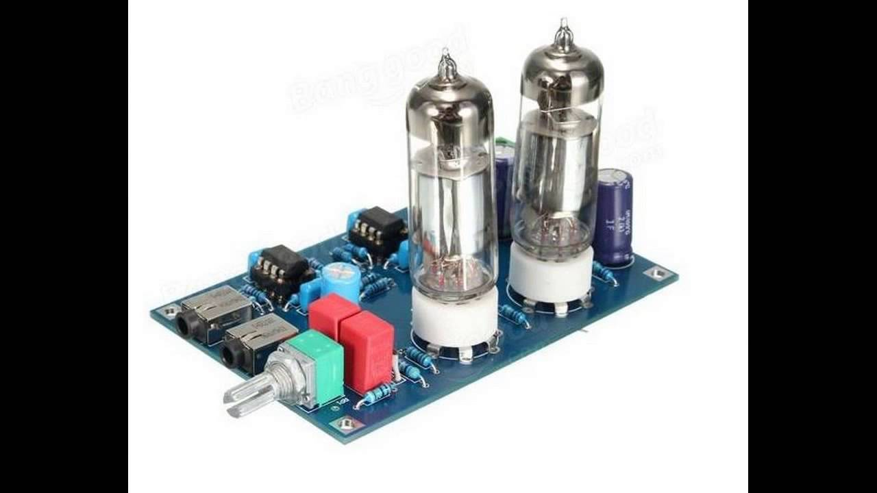 DIY Class A 6J5 HIFI Headphone Amplifier Vacuum Tube  Valve Preamplifier Kit