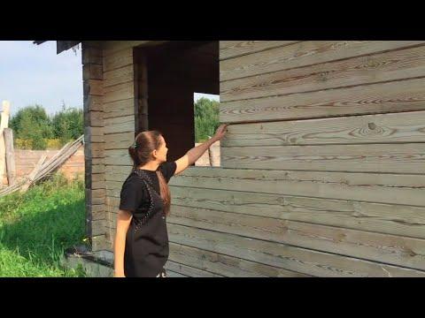 Обзор деревянного дома из бруса неизвестного производителя