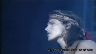 a-ha live - The Blood That Moves the Body  (HD) - Luna Park, Buenos Aires - 10-06-1991