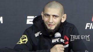 Я не Хабиб, я Хамзат / Чимаев пресс конференция после боя против Джеральда Миршерта на UFC