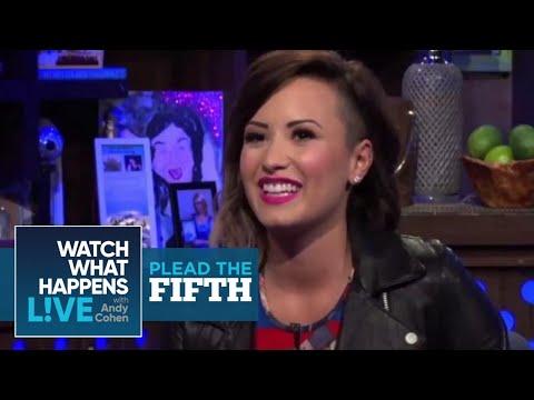 Why Did Demi Lovato Unfollow Selena Gomez? | Plead the Fifth | WWHL