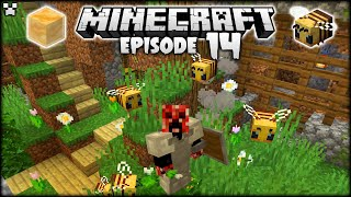 An Introduction To Minecraft BEES, HIVES & More! | Python Plays Minecraft Survival [Episode 14]