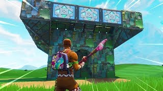 The New Port-a-Fortress Gameplay in Fortnite..