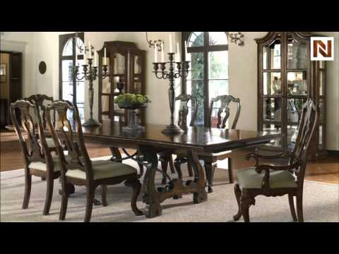 Bernhardt Artisan Estate Rectangular Dining Table 325-223 ...