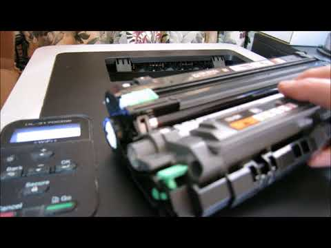 reset Brother laser printer cartridge  HL-3170CDW  & tip on how to refill
