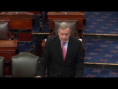 Durbin: It's Unacceptable Senate Republicans Won't Give Supreme Court Nominee a Hearing & Vote