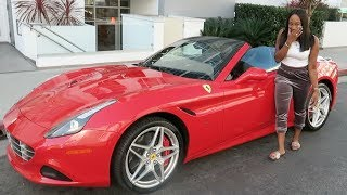 SURPRISED FIANCÉ WITH A FERRARI FOR HER BIRTHDAY!!!!