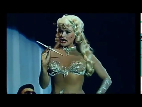 The Color Version of Jayne Mansfield's Too Hot To Handle Number
