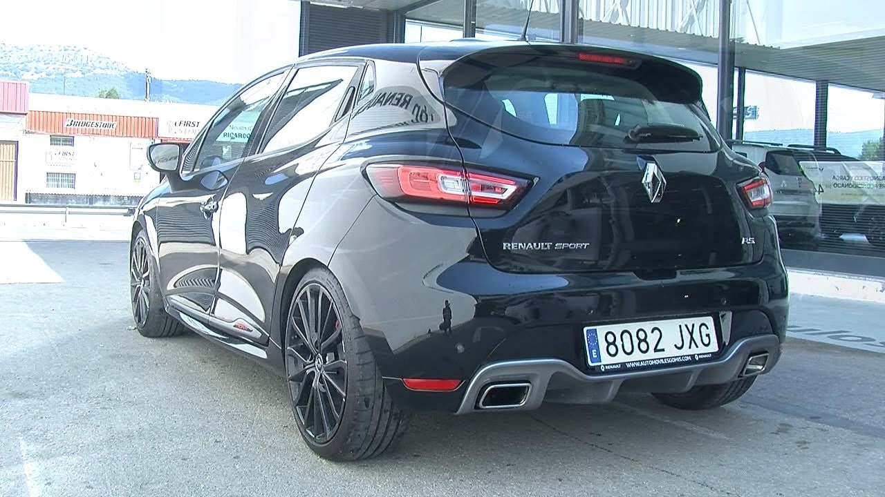 probamos el renault clio rs sport youtube. Black Bedroom Furniture Sets. Home Design Ideas