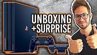 PS4 PRO 500 Million, mon UNBOXING + GROSSE surprise !